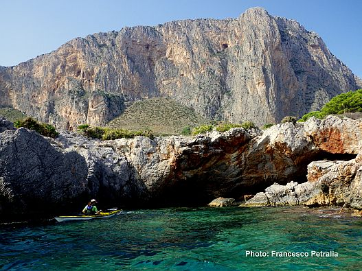Admiring-the-caves-between-Palermo-and-Trapani